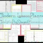 Modern Lesson Planner
