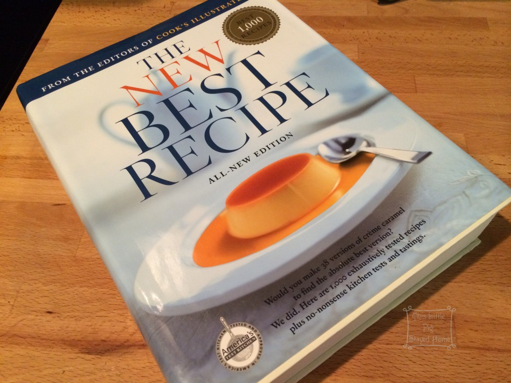 The New Best Recipes Cook Book