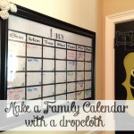 Family Calendar & Message Wall