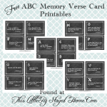 ABC Chalkboard Bible Memory Verses