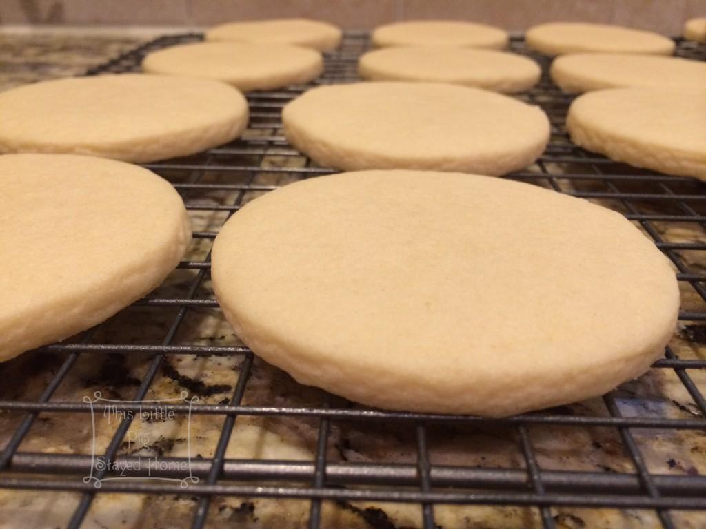 Scarecrow sugar cookies 1