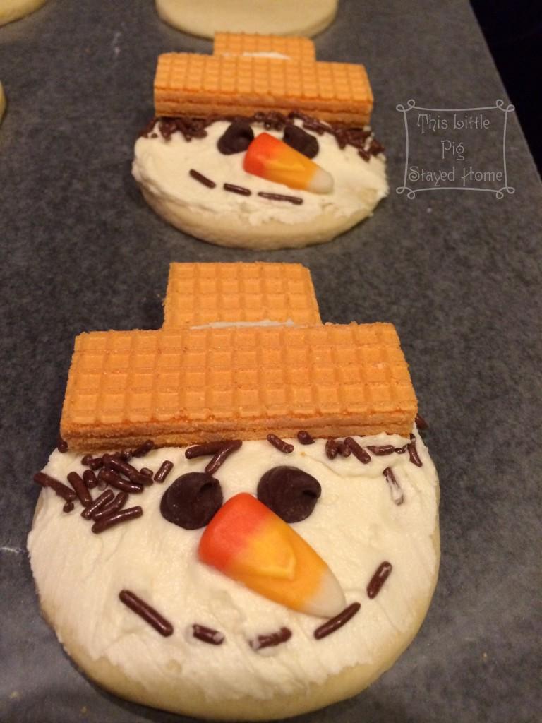 scarecrow sugar cookies 4