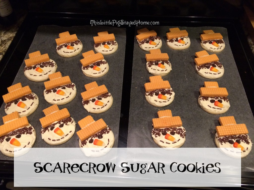 scarecrow sugar cookies 5